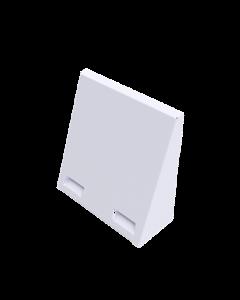 Wetterschutzhaube-aV100 weiß-RAL9016