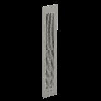 Laibungsgitter V-70x512 grau-RAL9006