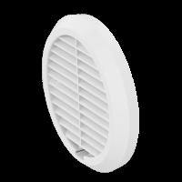 Wetterschutzgitter Light weiß-RAL9010