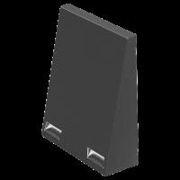 Wetterschutzhaube FlexOffice Nord-RAL7011