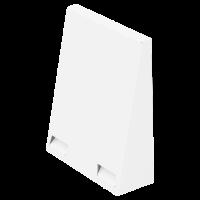 Wetterschutzhaube-FlexOffice weiß-RAL9016