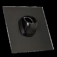Dachdurchgang Top D160 25-45° schwarz